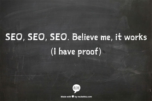 Helpful Humpday: SEO - It really works (I have proof)