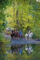 Horseback adventures with Canadian Wilderness Adventures