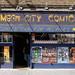 Mega City Comics comic shop exterior, Camden Town, London, England