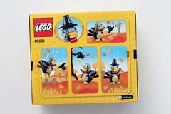 LEGO Seasonal Thanksgiving Turkey (40091)