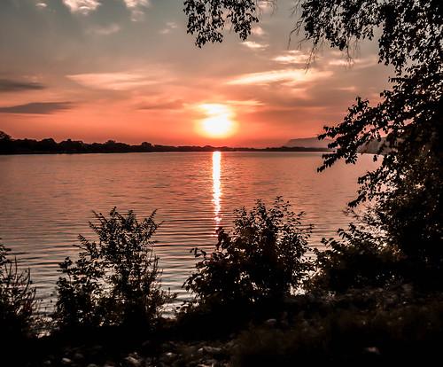 park morning sky sun lake nature water minnesota sunrise landscape dawn midwest scenery daybreak winonaminnesota