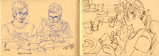 Shinagawa sketch session 0923-3