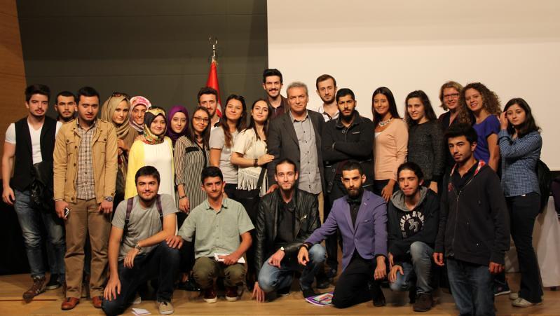 Gazeteci-Yazar Yaşar Gürsoy Üsküdarlı öğrencilerle buluştu 2
