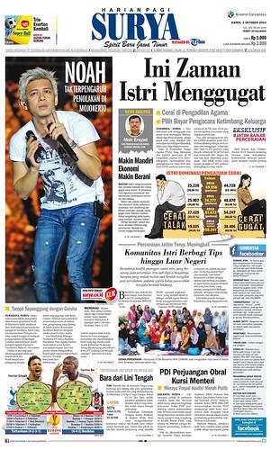 Harian SURYA 2 Oktober 2014