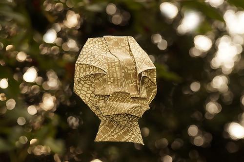 Origami 'Faith Mask' (Toyoaki Kawai)
