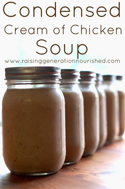 Condensed Cream of Chicken Soup