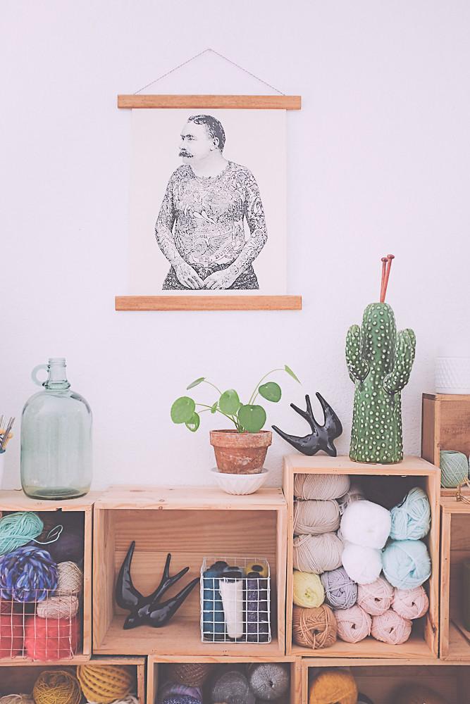 diy un encadrement d 39 affiche de style vintage planb par morganours. Black Bedroom Furniture Sets. Home Design Ideas
