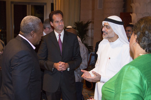 Dubai business leaders meet President Mahama