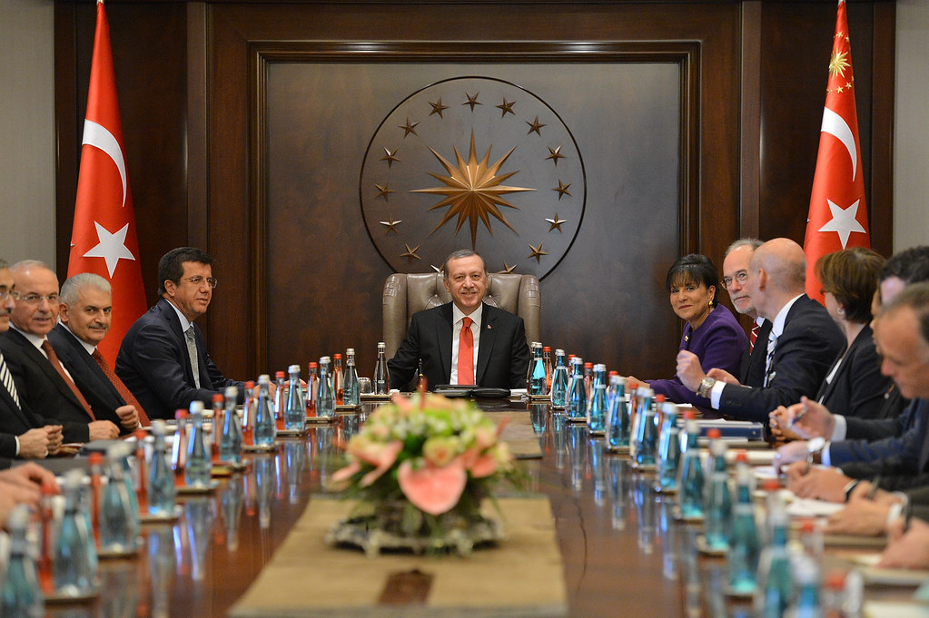 Meeting with President Erdogan