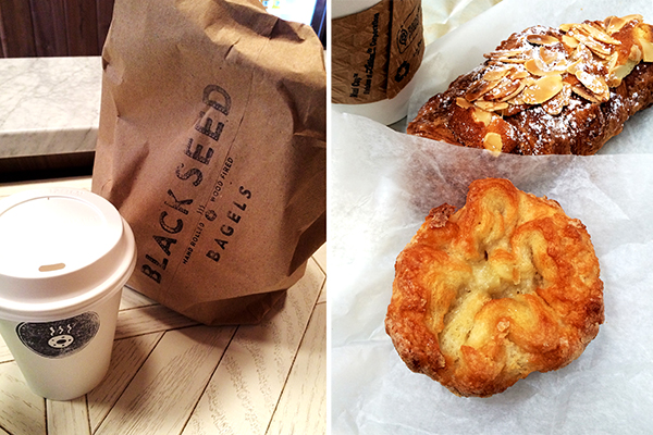 Black Seed Bagels and Kouign Amann