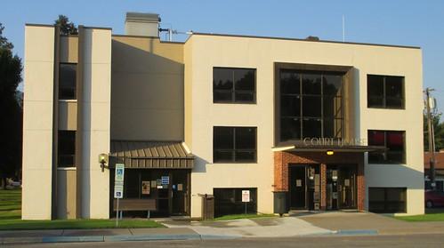 montana mt courthouses sanderscounty thompsonfalls countycourthouses usccmtsanders