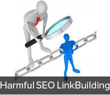 Harmful seo link building strategies