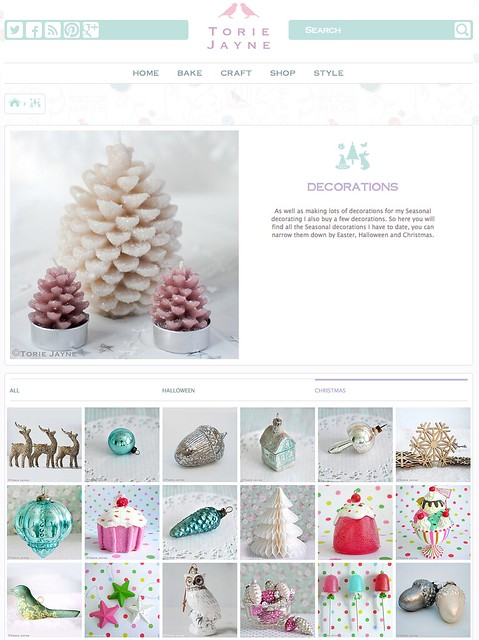 Seasonal decorations @toriejayne.com