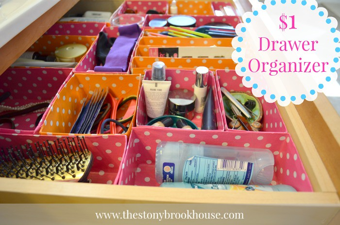 $1 Drawer Organizer