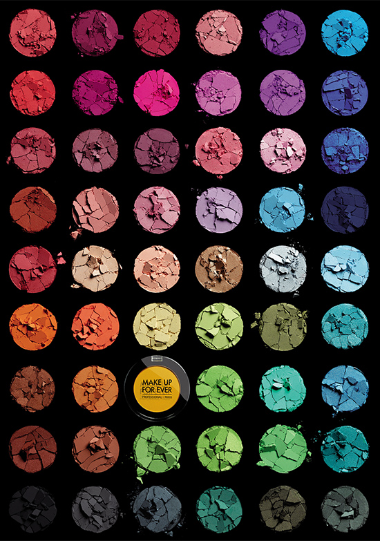 Make Up For Ever Artist Shadow collection