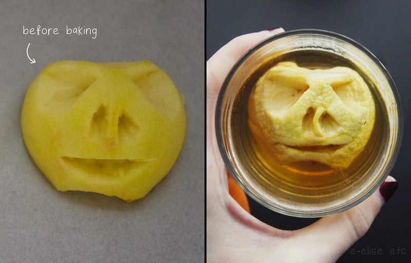 diy shrunken apple heads halloween e-elise etc