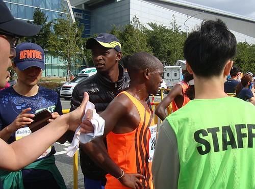 Gewinner des Halbmarathons