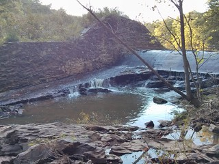 Sycamore Lake dam