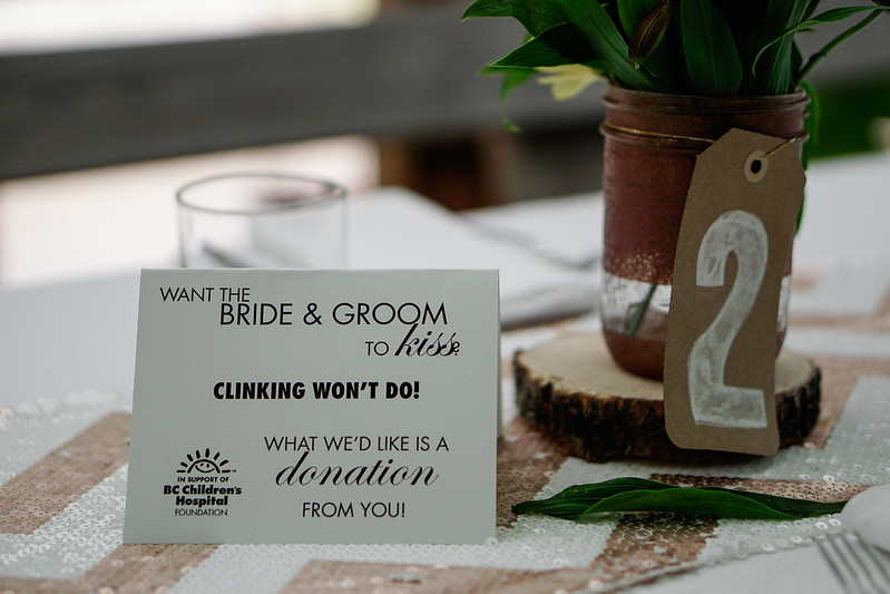 Pony up for charity instead of glass clinking from @offbeatbride