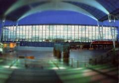 Germany-Munich airport-Lufthansa Terminal
