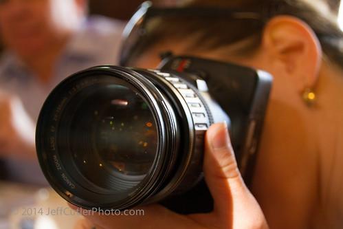 Kara with her camera - not Scott's
