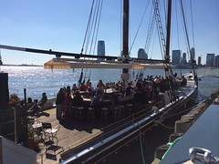 Oyster bar on a schooner by Guzilla