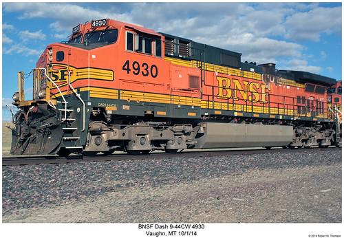 BNSF Dash 9-44CW 4930