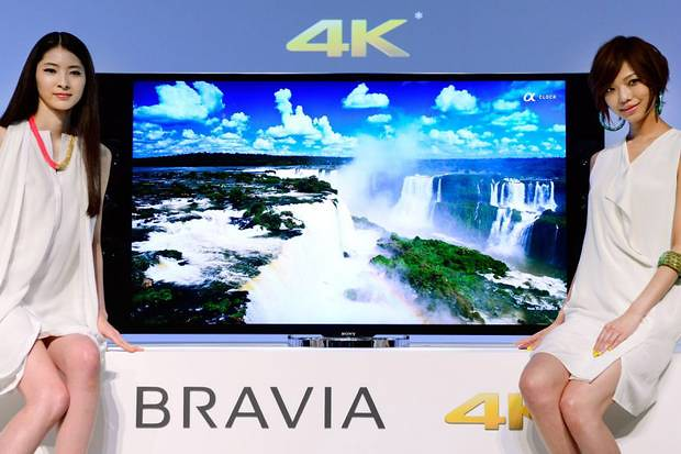 ultra-high-definition sony bravia