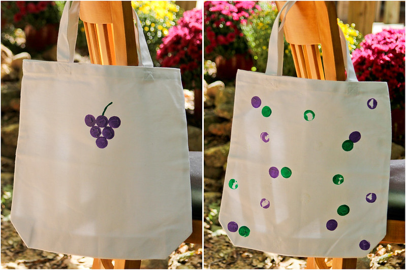 Use Leftover Corks to Decorate a Tote Bag