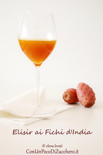 Elisir ai fichi d'india - prickly pears elixir