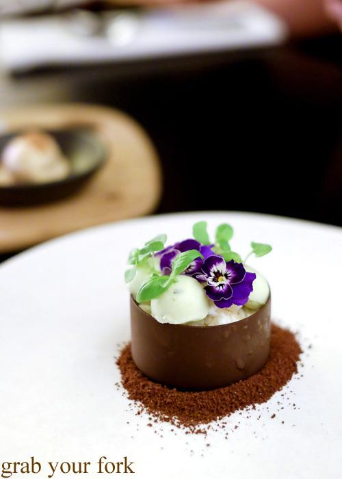Basil Garden at Om Nom Dessert Bar at the Adelphi Hotel, Melbourne