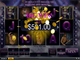 Chippendales Free Spins