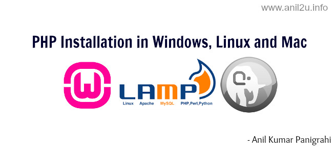 PHP installation procedure in Windows, Mac and Linux systems