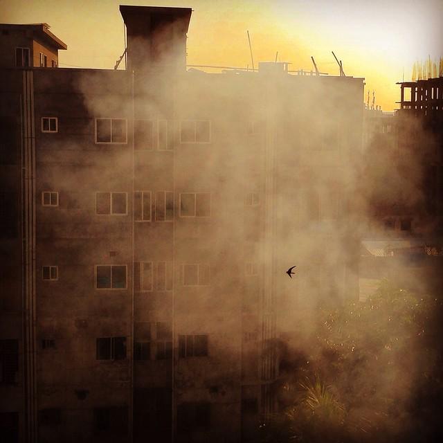 Smokey Flight by Seeam Khan, on Flickr