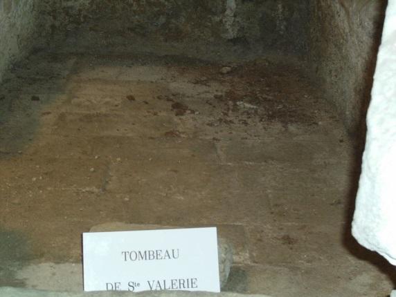 mormantul Sfintei Valeria