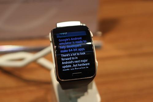 Samsung Gear S - Frankfurt Buchmesse 2014