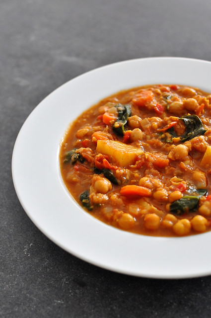 Moroccan Chickpea Stew 2