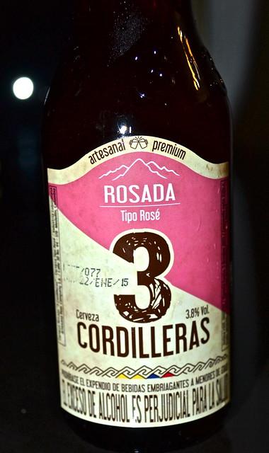 3 cordilleras - colombian beer