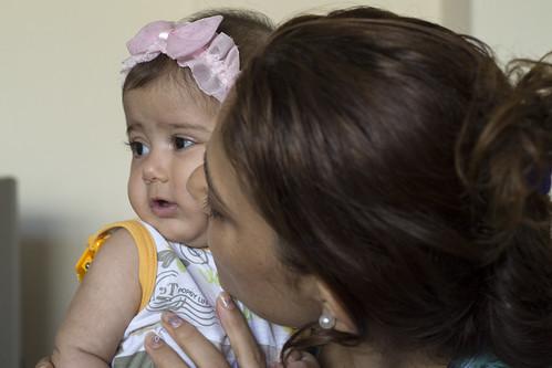 Syrische gezinnen in Turkije