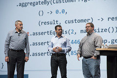 Donald Raab, Georges Saab and Peter Utzschneider, JavaOne Strategy Keynote, JavaOne 2014 San Francisco