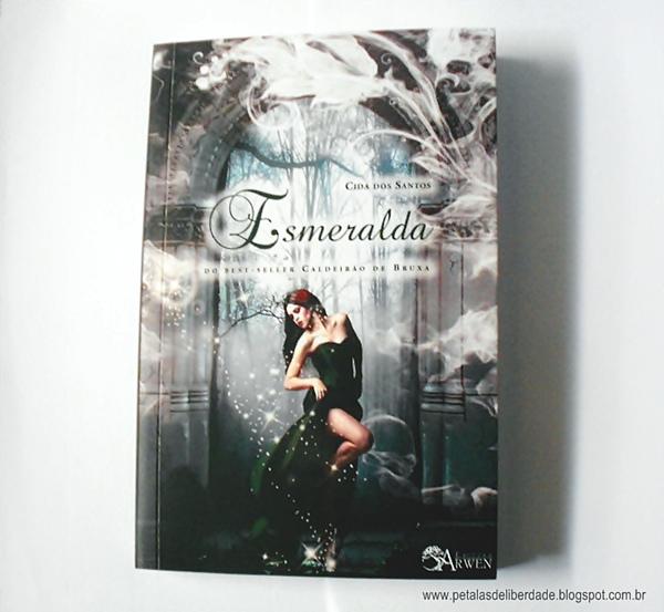 Resenha, livro, Esmeralda, Cida dos Santos, Editora Arwen, box, poesia, romance, capa bonita