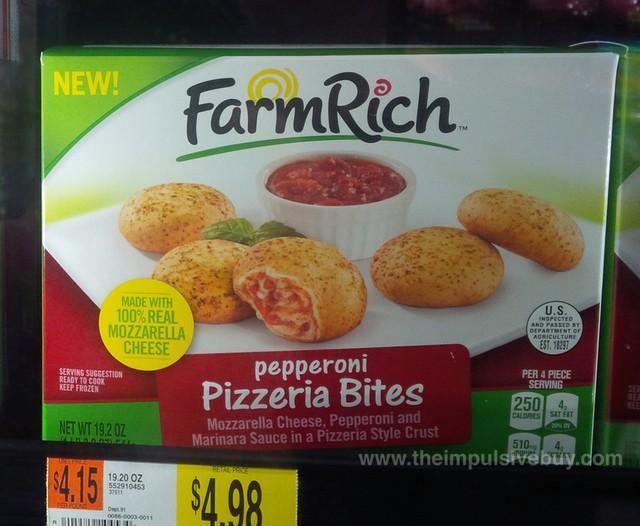 Farm Rich Pepperoni Pizzeria Bites