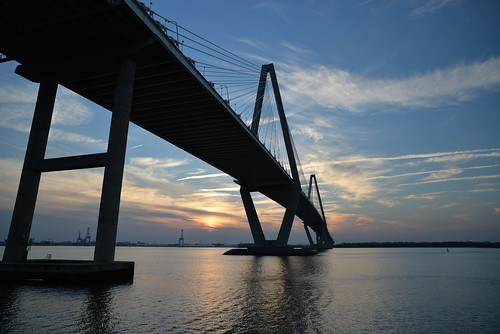 travel sunset usa zeiss nikon mountpleasant southcarolina charleston cooperriver distagon d610 arthurraveneljrbridge distagon2128zf mountpleasantmemorialwaterfrontpark ravenelbridgesunsetproject