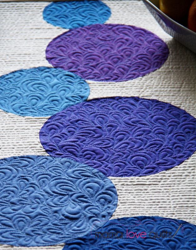 Connect the Dots Table Runner_Closeup1