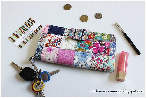 Wallet  1 - patchwork liberty - view 4