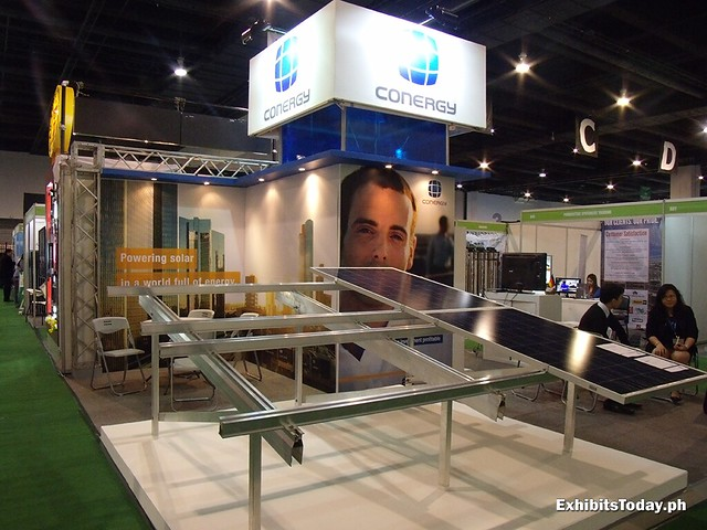 Conergy Exhibit Stand