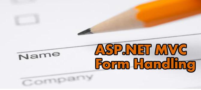 asp.net mvc form handling