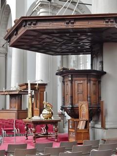 Imagen de Westerkerk cerca de Ámsterdam. church amsterdam culture christian pulpit westerkerk pomp