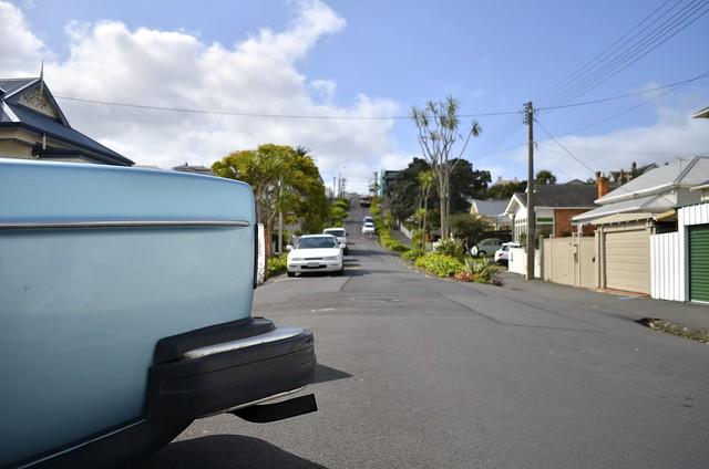 Blue car | Devonport