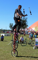 endurance sports(0.0), bicycle racing(0.0), bicycle motocross(0.0), bmx bike(0.0), flatland bmx(0.0), cycle sport(0.0), cyclo-cross(0.0), extreme sport(0.0), duathlon(0.0), mountain bike(1.0), vehicle(1.0), sports(1.0), race(1.0), bmx racing(1.0), stunt performer(1.0), cycling(1.0), bicycle(1.0),